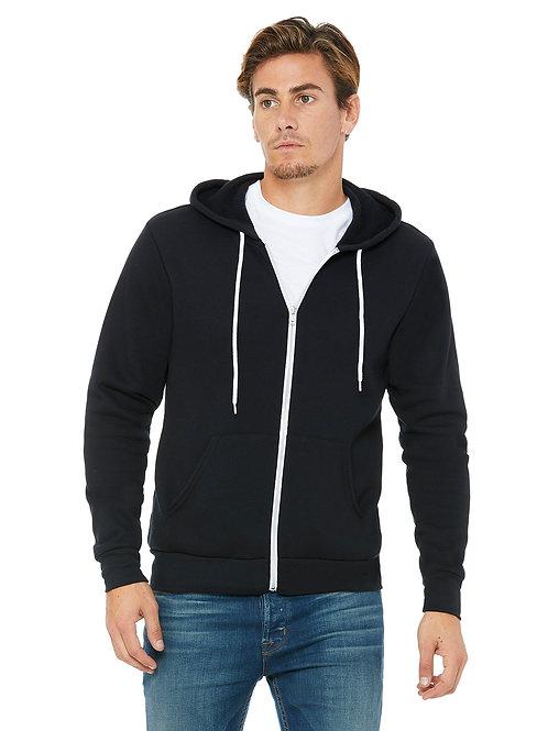Unisex Poly Fleece Full Zip Up