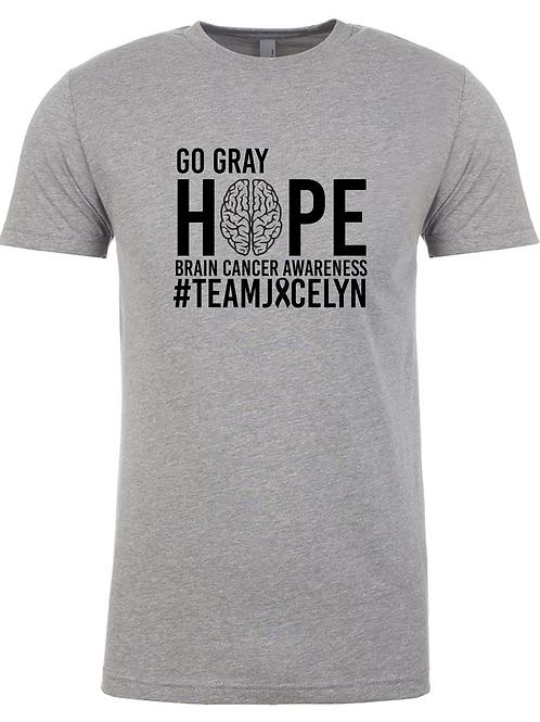 Go Gray Light Gray Tee