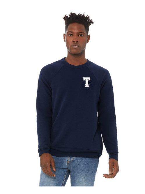 Poly Cotton Unisex Crewneck Sweatshirt