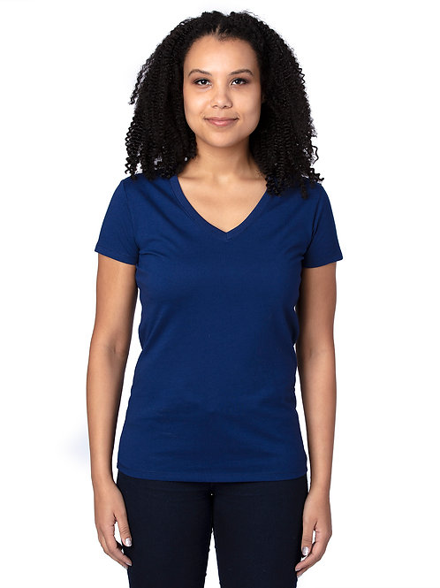 Hartland Adult Ladies V-Neck Tee