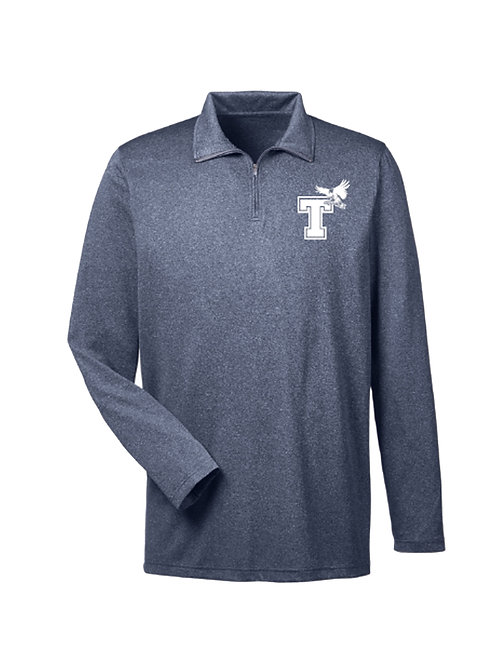 Men's Polyester Quarter Zip