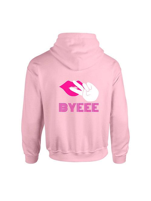 Byeee Hoodie Pink