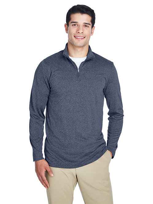 Adult Men's Polyester Quarter Zip