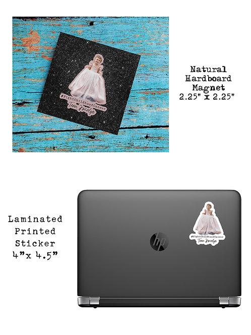 Jocelyn Magnet/Sticker Bundle