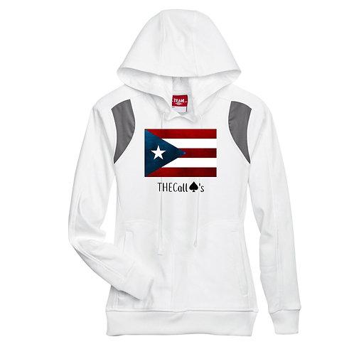 Puerto Rican Flag Hood