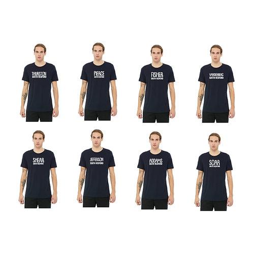 Men's Navy Triblend Shirt