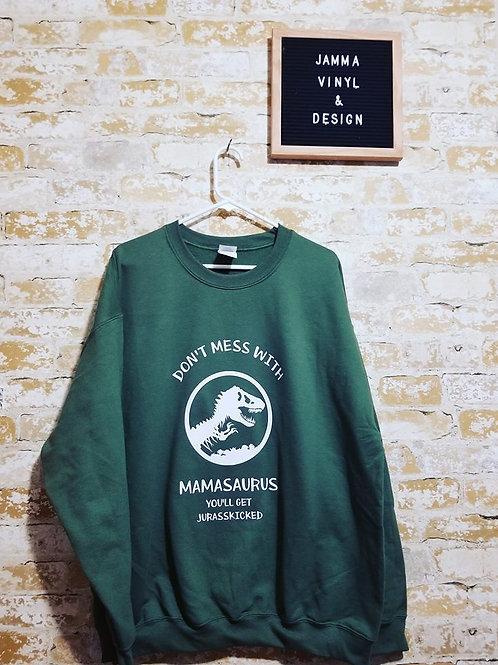 Don't Mess with Mamasaurus Shirt