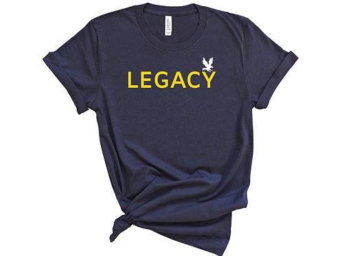 Legacy Navy Unisex Tee