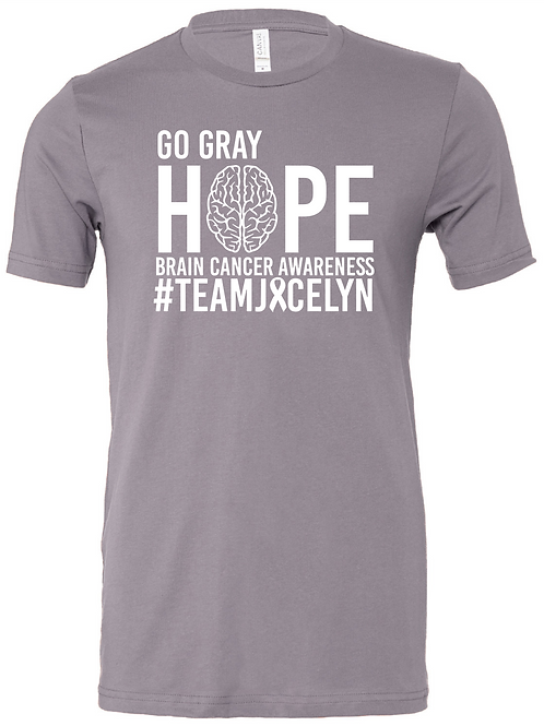LC Go Gray for J Gray Tee