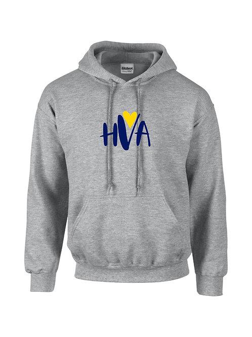 HVA Grey Unisex Hoodie