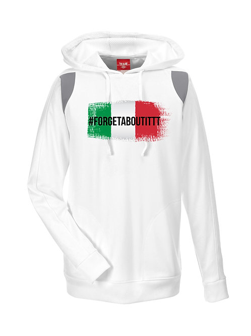 Forget About It Italian Flag Hood