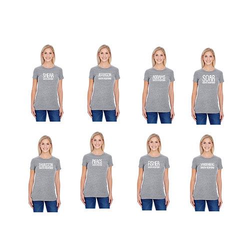 Ladies Grey Triblend Shirt
