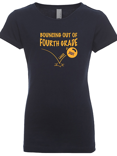 Youth Girls Fitted Tee