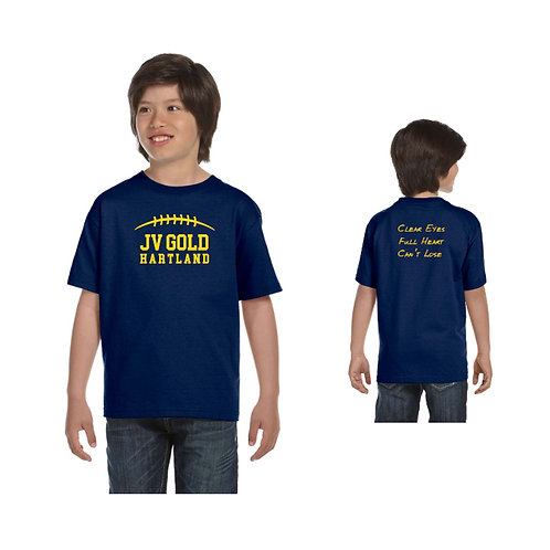Hartland JV Gold Team/Family Shirts