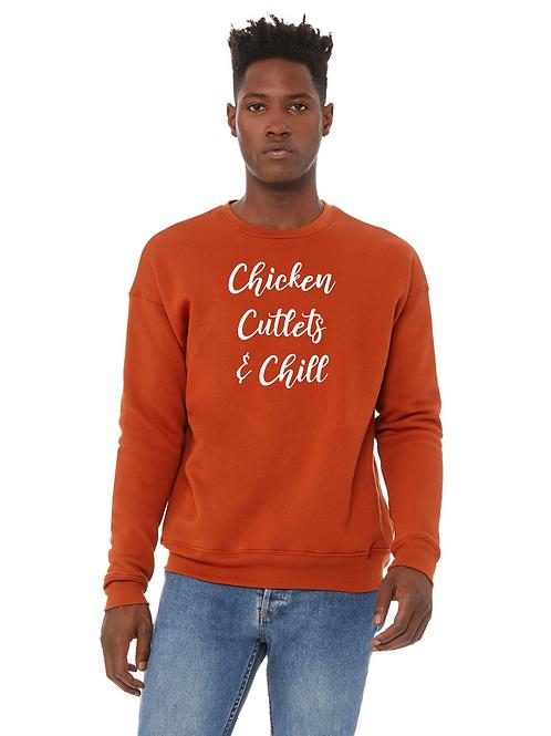 Chicken Cutlets & Chill Crewneck Sweatshirt