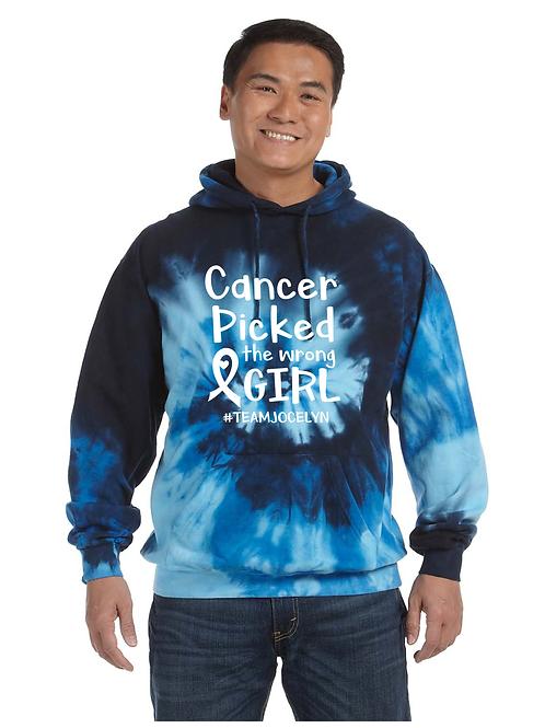 Blue Ocean Tie Dye Hoodie