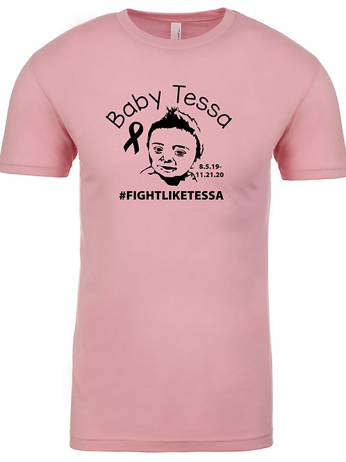 In Memory of Tessa Pink Tee