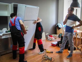 Перевозим холодильники по Улан-Удэ