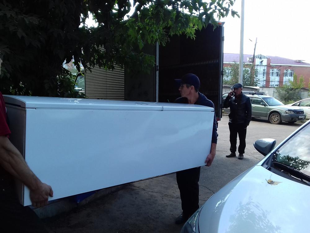 Перевозка холодильника Улан-Удэ