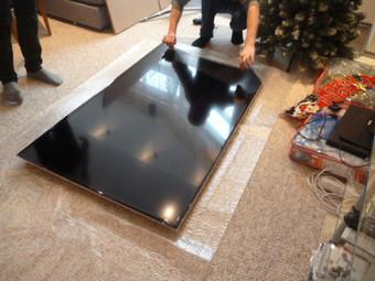 Можно ли переворачивать плазменный телевизор при переезде?