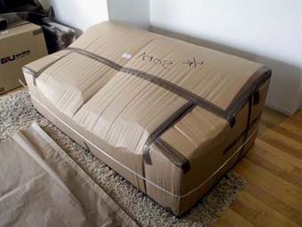 Правильная упаковка дивана при перевозке