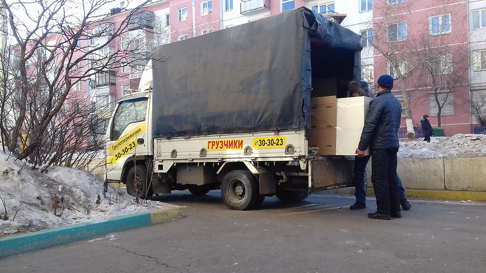 Грузовая перевозка детской мебели по Улан-Удэ