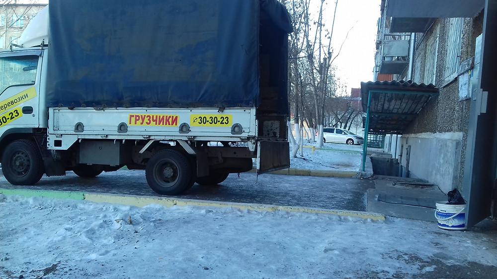 Перевозка металлической двери по Улан-Удэ