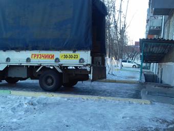 Грузовая перевозка металлической двери в Улан-Удэ.