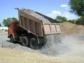 Перевозка сыпучих материалов(гравий,щебень,песок) по Улан-Удэ