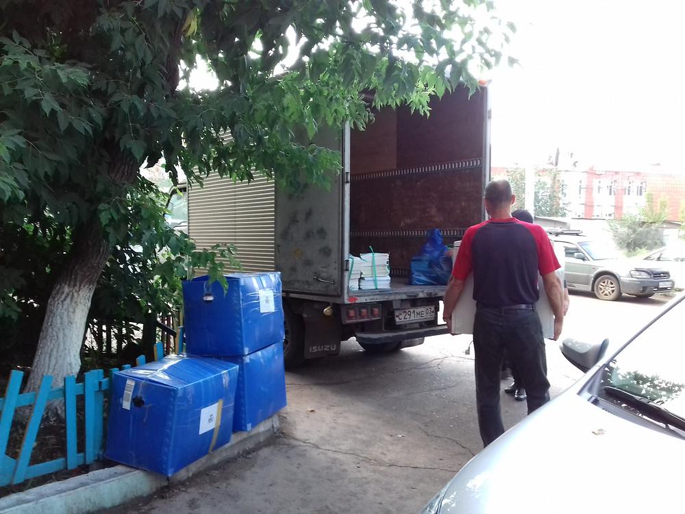 Офисный переезд в Улан-Удэ с грузчиками
