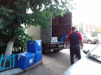 Офисный переезд по Улан-Удэ с грузчиками.
