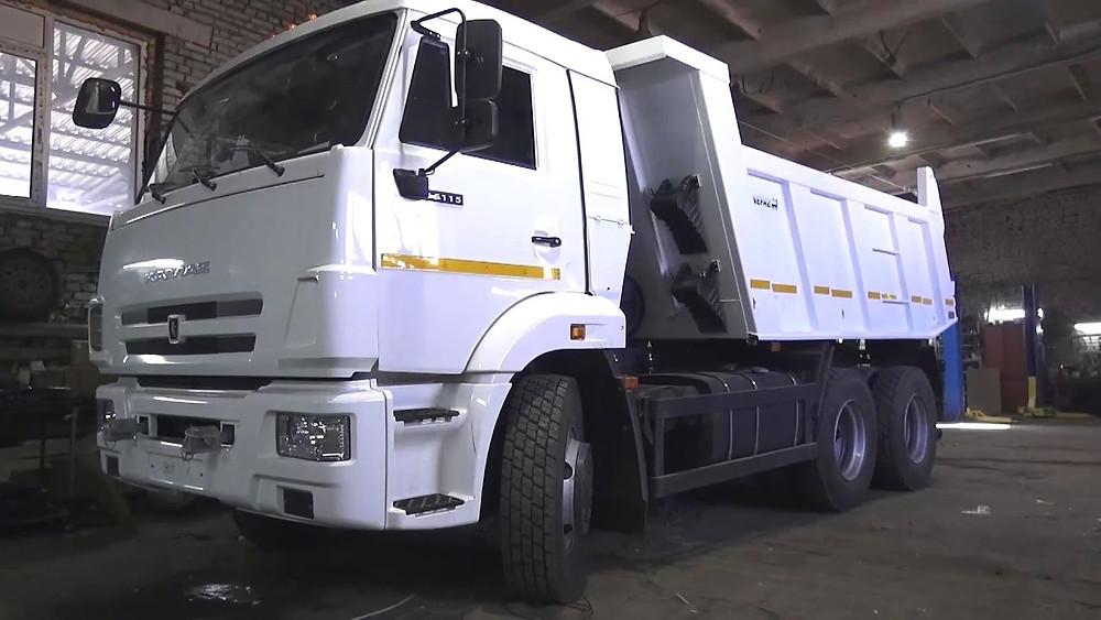 """Услуги грузового автомобиля """"Камаз"""" в Улан-Удэ"""