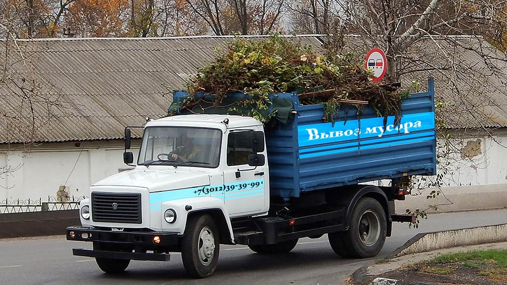 Вывоз мусора в Улан-Удэ