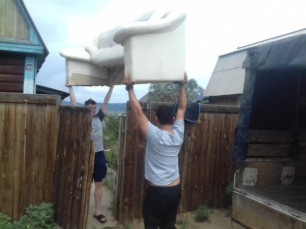 Перевозка дивана по Улан-Удэ