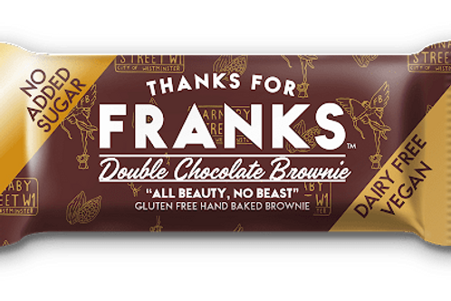Frank's Gluten free Double Chocolate Brownie 15 x 55g