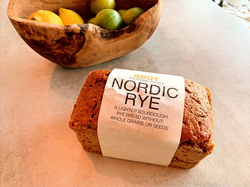 Bread Nordic Rye Loaf (Order before 12pm for next day delivery Mon-Fri)