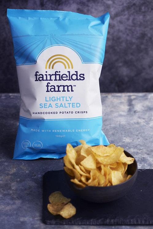 Fairfields Farm Crisps Lightly Salted 150g