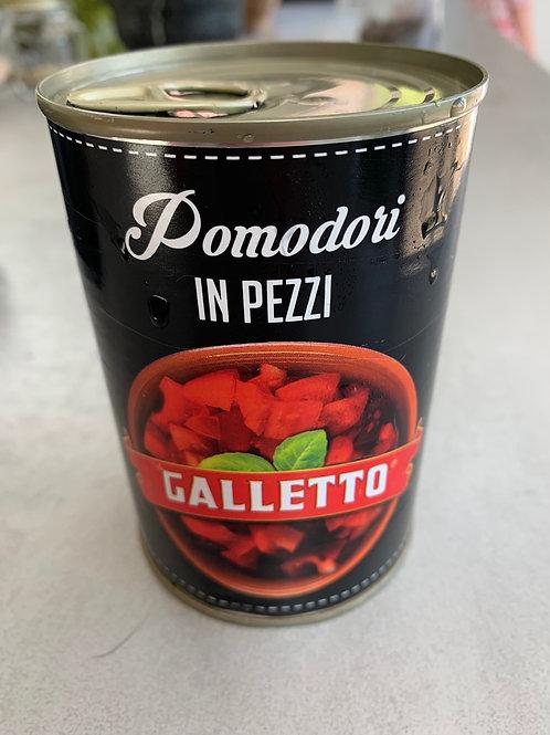 Chopped Tomatoes Premium Galletto 400g