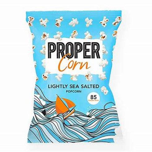 Propercorn Lightly Sea Salted 24x20g (blue)