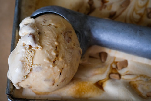 Yorvale Ice Cream Salted Caramel 500ml