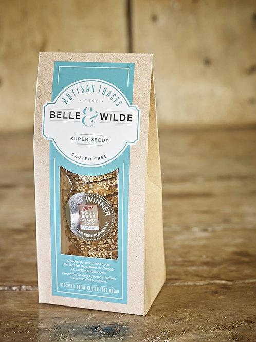 Belle & Wilde Artizan Toast Super Seedy 100g