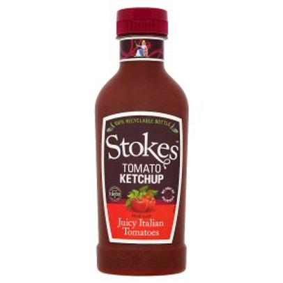 Stokes Real Tomato Ketchup Squeezy 485g