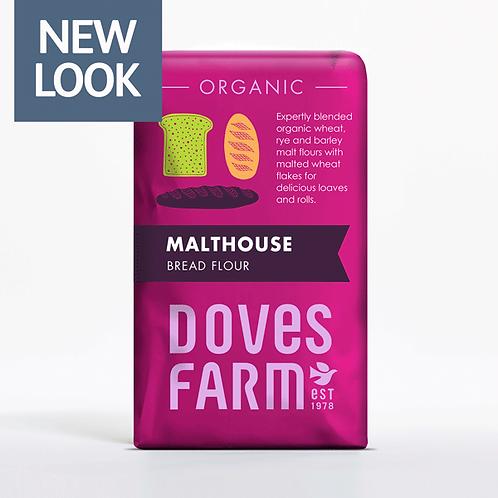 Doves Farm Orgainc Malthouse Bread Flour 1kg