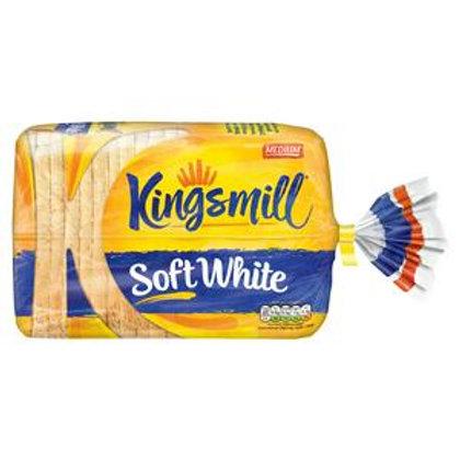 Kingsmill White Medium Bread 800g