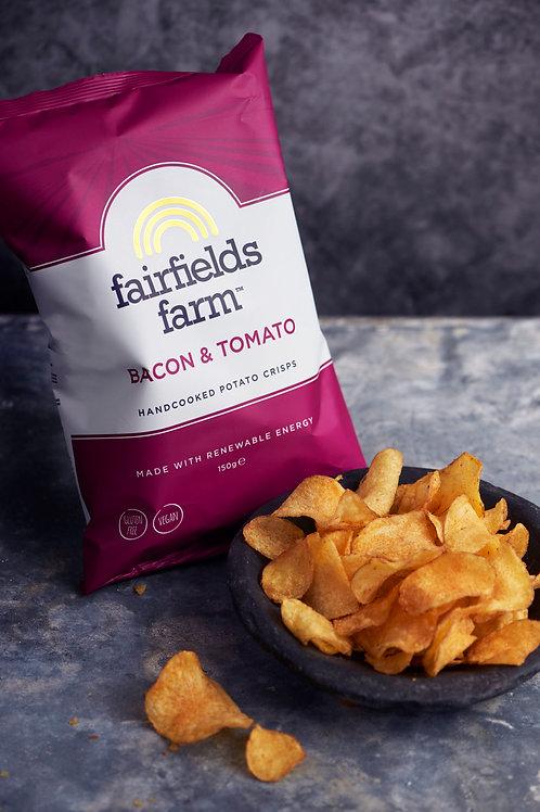 Fairfields Farm Crisps Bacon & tomato 150g