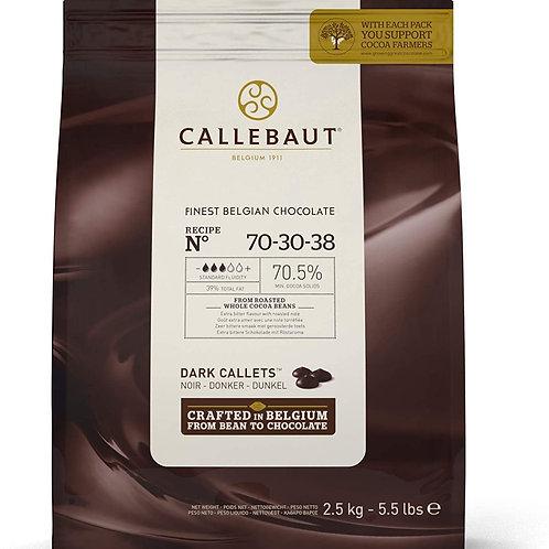 Callebaut Dark Chocolate 70.5% 2.5kg