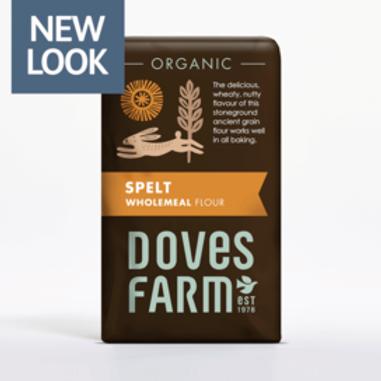 Doves Farm Wholemeal Spelt Organic 1kg