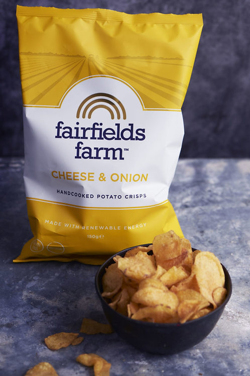 Fairfields Farm Crisps Cheese & Onion 150g