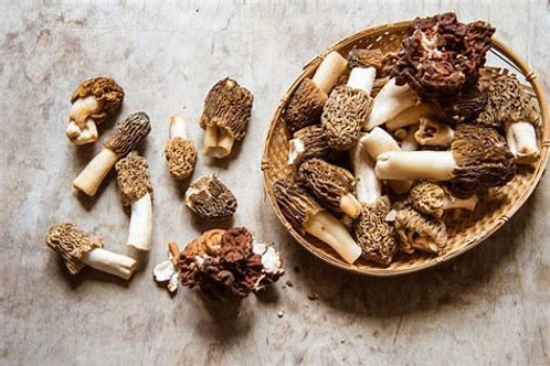 MORELLS 100g (Dried Mushrooms)