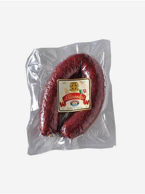 Pepperoni Salsiccia Curvata Piccante Whole 330g Aprox